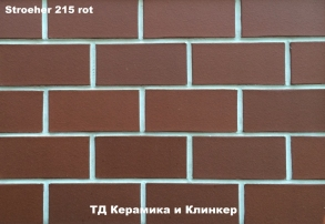 Плитка для гаража Stroeher 215 rot
