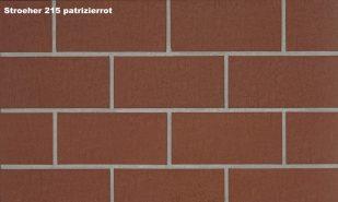 Плитка для гаража и дорожек Stroeher 215 patrizierrot