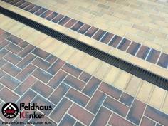 P273 и P408  Тротуарная плитка Feldhaus Klinker вид 1
