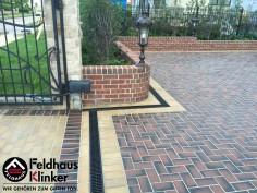 P273 и P408  Тротуарная плитка Feldhaus Klinker вид 10