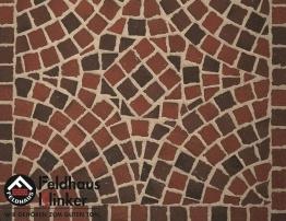 Брусчатка мозаика 403 gala flamea