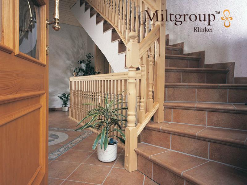 Клинкерные ступени для внутренних помещений